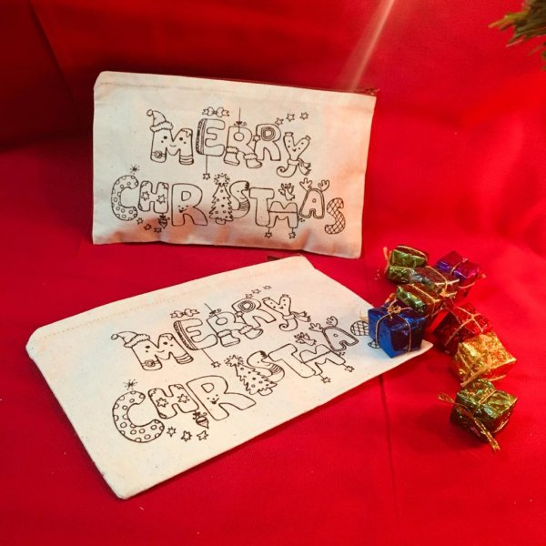 Christmas Pouch - Pack of 10