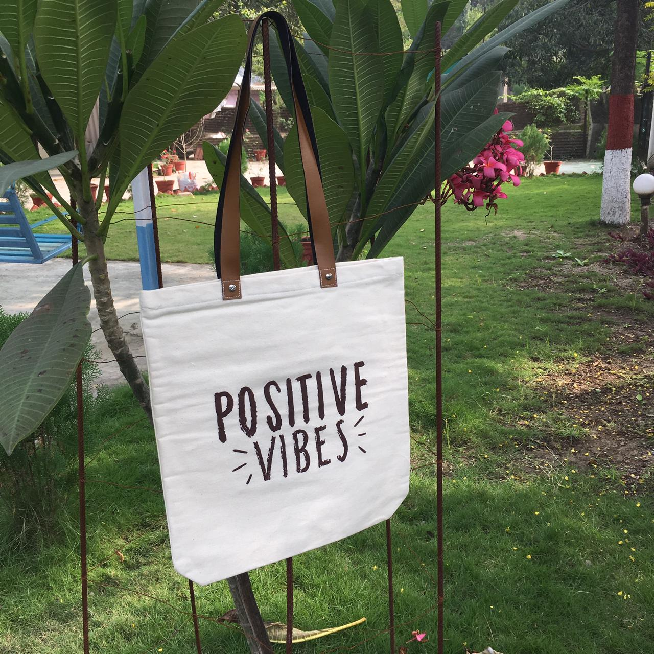 Positive vibes bag