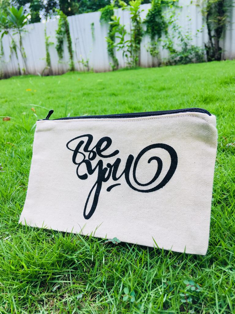 """Be You"" Pencil Pouch"