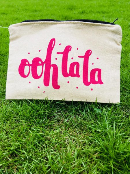 """Oh La La"" Make-up Pouch"
