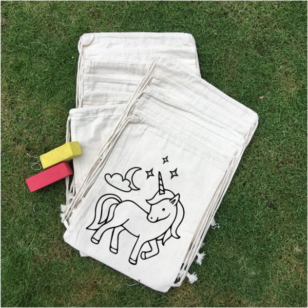 """Unicorn"" Backpacks - Set of 12"