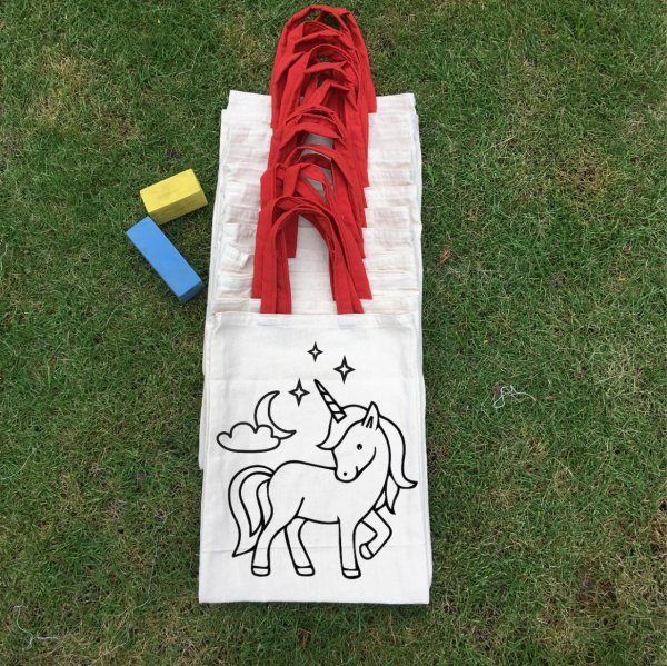 """Unicorn"" Bags - Set of 12"